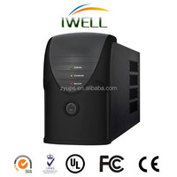 China Factory price 1000VA 600W 220V 24V for laptop computer Backup Home UPS