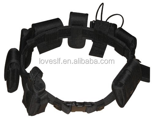 High quality Loveslf Nylon Tactical safety <strong>belt</strong> Rescue Rappel Down <strong>Belt</strong>
