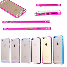 2015 New arrival cover for iphone 6 plus, for iphone 6 plus case metal aluminium bumper