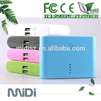 With 1 year warranty 12000 mAh Slim power bank charging powerbanks for Smart phone ,ipad ,ipod