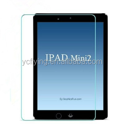 professional touch screen protector film factory tempred glass screen protector film for IPAD mini