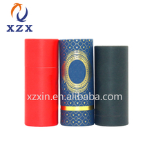 custom logo roll edge paper round cylinder cosmetics luxury gift box packaging for perfume