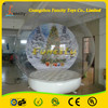 Free repair kits and glue water wedding inflatable snow globe