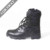 Easy Wear Black Rubber Military Taciacal Boots with Zipper hiking boots military