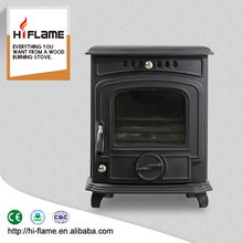HiFlame 4.6 KW mini portable cast iron wood burning stove burner HF217