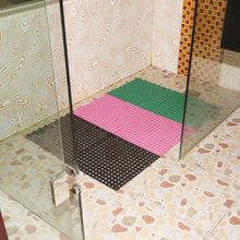 Indoor waterproof modular commercial shower mats