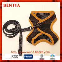 High Quality Cheap Mesh Fabric Soft Padded Walk Dog Harness