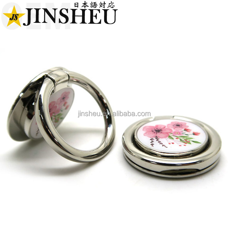 Promotional Cell Phone Stand Portable Finger Ring Holder for Mobile Phone