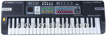 44 keys toys for kids with microphone MQ-026FM
