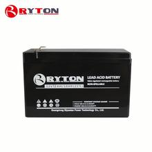 RYTON POWER 9ah yuasa 12v deep cycle vrla 6v 7ah rechargeable lead acid battery solar system off grid 2000 watt