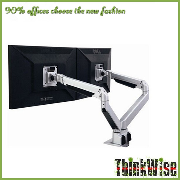 ThinkWise S203 Ergonomic full motion dual monitor LCD stands