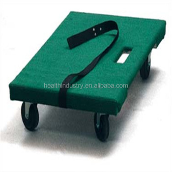 "20""X30"" carpeted dollies (plywood + covering carpet) for the Canadian moving and storage industry"