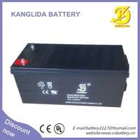 Kanglida 12v 200ah deep cycle AGM sealed lead acid battery