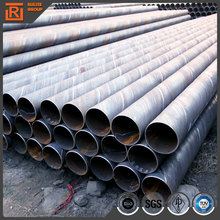 API 5l welded steel tube used culvert pipes lsaw dsaw spiral longitudinal ssaw sawh erw welded pipe
