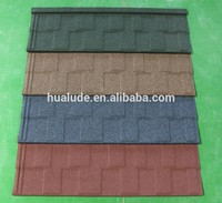 Building Material Stone Coated Roofing Tile