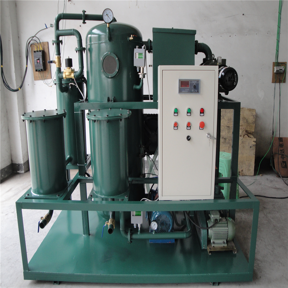 china RZL junneng lubricating oil treatment device,waste Lube Oil Recycling Plant