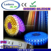 PU Glue Not Go Yellow! Wholesale Alibaba super bright IP65 home deco 14.4w/m flexible strip smd 5050 luz de natal CE&ROHS
