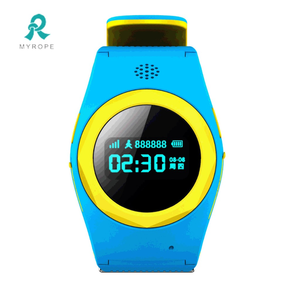 Personal smart watch phone gps tracker for elderly
