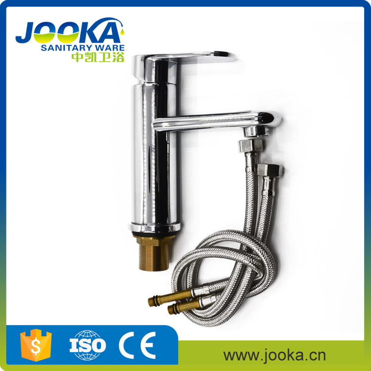 The reason price single handle chrome cold and hot water mixer basin faucet