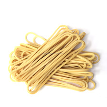 Biege Color Natural Flat Industrial Rubber Band, Elastic Rubber Band Thailand