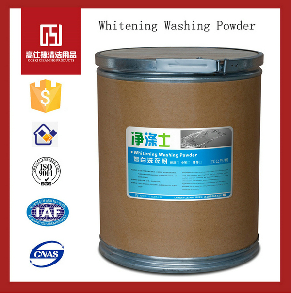good chinese washing powder snow white detergent