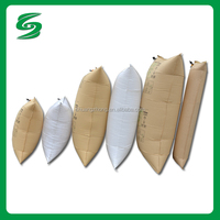 high quality brown kraft paper dunnage air bag inflatable dunnage air bag for factory directly