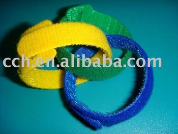 hook and loop cable ties customized