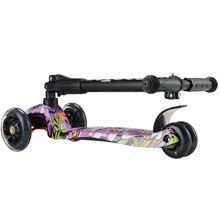 New Coming Custom Design Glowing Wheels Funny Old Fashioned Scooter