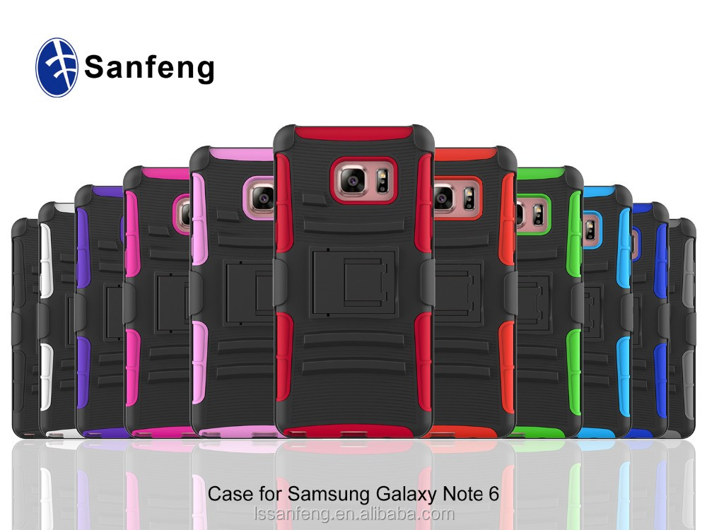 alibaba express flip mobile phone cover case for Samsung Galaxy Note 6 7 robot case