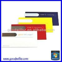 usb business card/usb lan card driver /business card OEM Logo