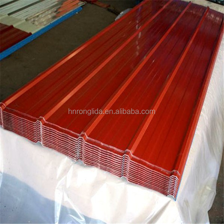 PPGI, GI corrugated metal roofing sheet direct buy from Chinese factory low price