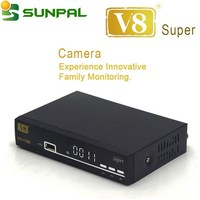[Genuine] Cheap price Digital V8 Super satellite receiver tv dvb-s2 with Wifi adapter USB receiver hd 1080p