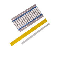 Hot selling products excellent electrical yellow shrinkable tube sleeving