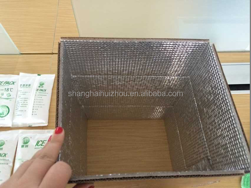 food shipping temperature control heat insulation box