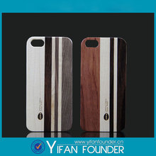 For apple iPhone 5 5S PC Wooden Mobile Case
