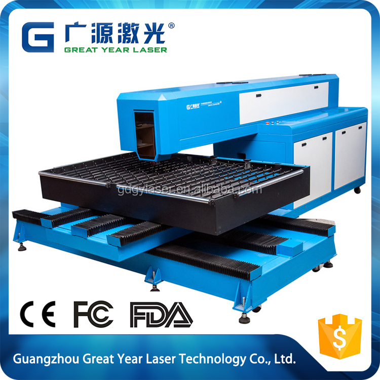 cheap price package box die board wood laser cutting carving machine