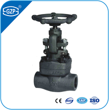 Forged Carbon Stainless Steel ASTM A105 A105N A266-2 A182 F304 F304L F316 F316L F317L Socket Butt Welding Connection Gate Valve
