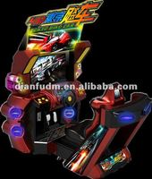 arcade car racing game machine--4D Tokyo biao car