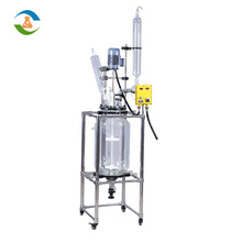 Fermentation Extraction Jacketed Glass Reactor