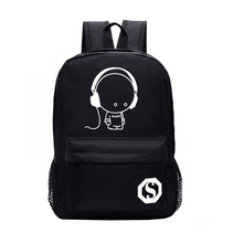 Stylish College Purchase Luminous Bags Backpack