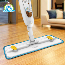 Boomjoy High Quality Microfiber Flat floor cleaning industrial mops