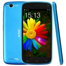 Original Gionee E3 16GB Blue, 4.7 inch 3G Android 4.2 Smart Phone, MTK6589 Quad Core 1.2GHz, RAM: 1GB, Dual SIM, WCDMA & GSM
