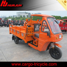 enclosed motor tricycle/trike axle/cargo tricycle with cabin