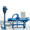 rich cheap sewage treatment plant cow dung dewatering machine