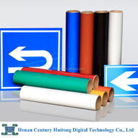 self adhesive PET plastic reflective film for road traffic signs