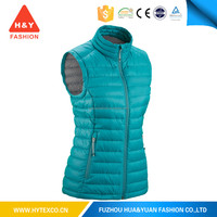custom color custom label factory price newest style warm padding breathable cheap high quality ladies quilted vest