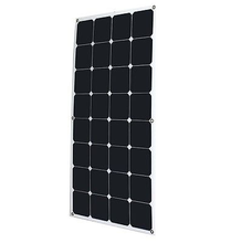 Lightweight bendable semi flexible solar panel 100W