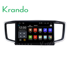 "Krando Android 7.1 10.1"" full touch car radio with gps for Honda Odyssey 2015 multimedia navigation WIFI BT 4G KD-HO914"