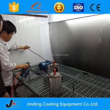 high quality paint booth with water curtain