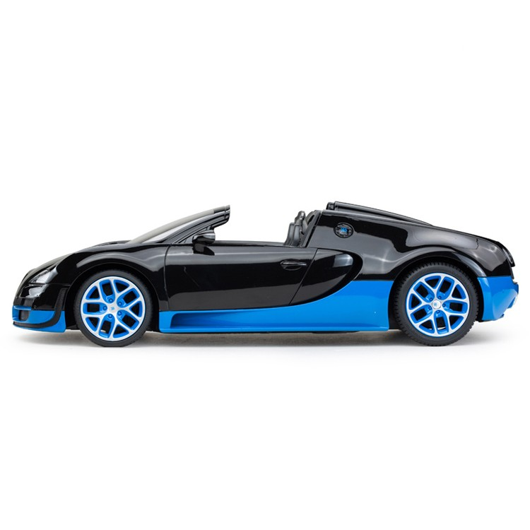Bugatti USB charge Rastar chinese manufacturer plastic toys electric rc car with lights